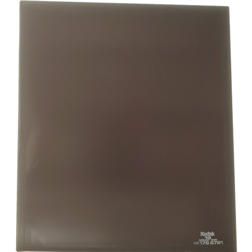 "Kodak #13 Amber Safelight Filter 10x12"""