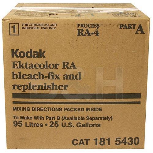 Kodak Ektacolor RA Bleach-Fix & Replenisher, Part A for Color Paper