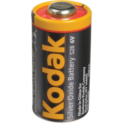 Kodak S28 6v Silver Battery