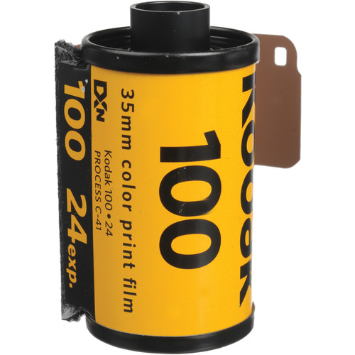 Kodak GA 135-24 Gold 100 Color Print Film (ISO-100)