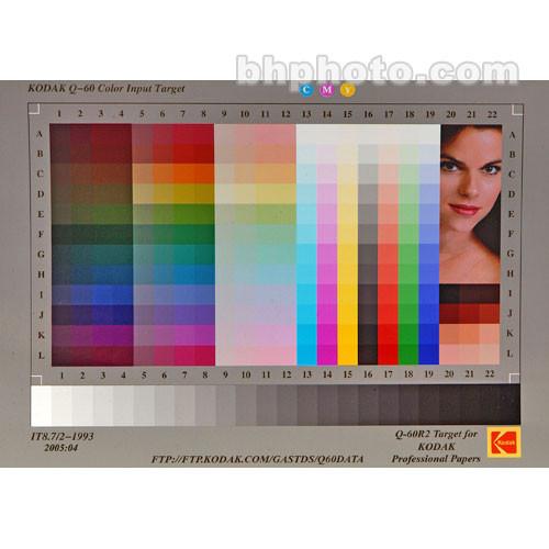 """Kodak #Q-60R2 Target- 5x7"""" Endura Paper"""