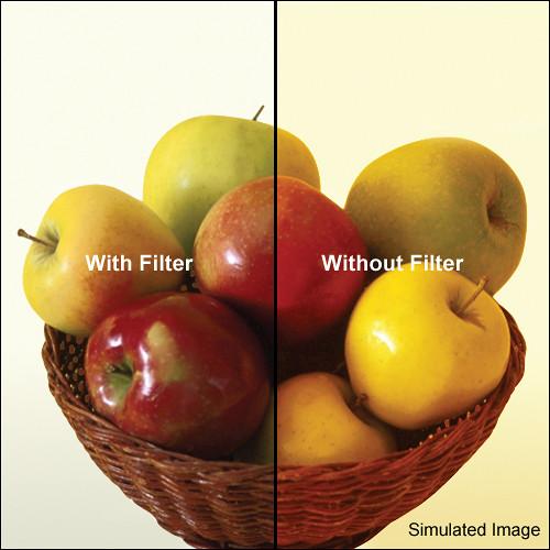 "Kodak 4x4"" (100mm) 80B Color Conversion Wratten 2 Optical Gel Filter"