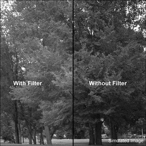 """Kodak 4 x 4"""" #58 Green Wratten 2 Optical Gel Filter for Black & White Film"""