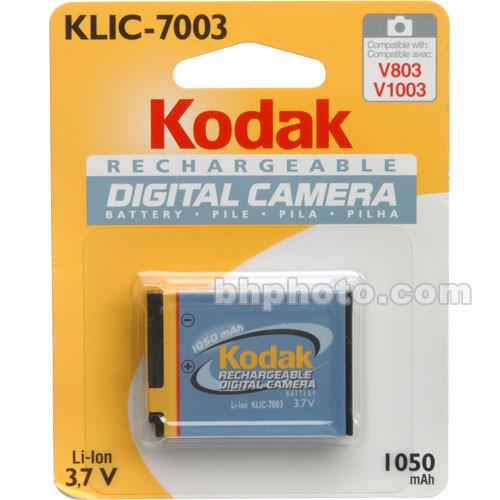 Kodak KLIC-7003 Lithium-Ion Battery (3.7v, 1050mAh)
