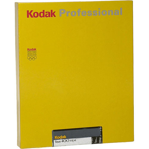 "Kodak Professional T-Max 400 Black and White Negative Film (8 x 10"", 10 Sheets)"
