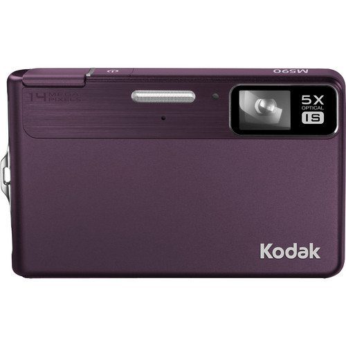 Kodak EasyShare M590 Digital Camera (Purple)