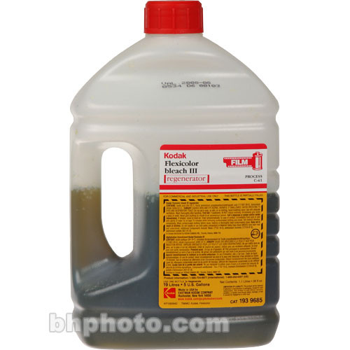 Kodak Flexicolor (C-41) Bleach III Regenerator for Color Negative Film