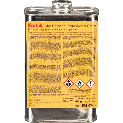 Kodak Professional Film Cement 1 Pint