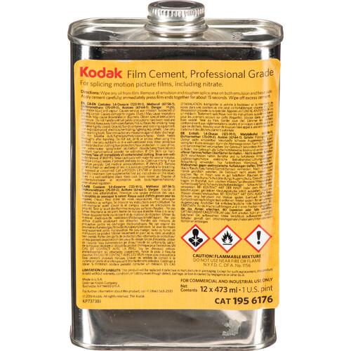 Kodak Professional Film Cement 1 Pint