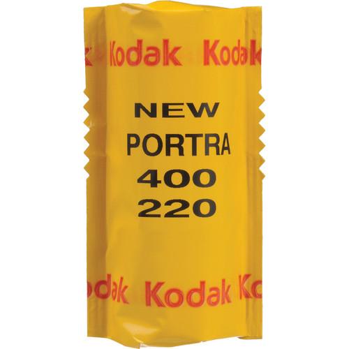 Kodak Professional Portra 400 Color Negative Film (220 Roll Film)