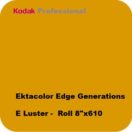 "Kodak Ektacolor Edge Generations 8"" x 610' Roll Luster Paper"