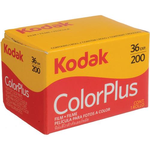 Kodak 35mm Color Plus 200 Negative Film (36 Exposure)