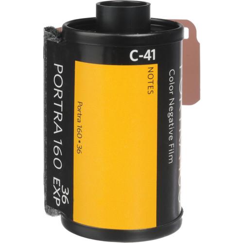 Kodak Professional Portra 160 Color Negative Film (35mm Roll Film, 36 Exposures, 5 Pack)
