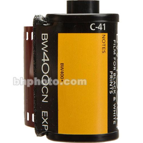 Kodak 135-24 BW400CN (Chromogenic C-41) Print Film (ISO-400)