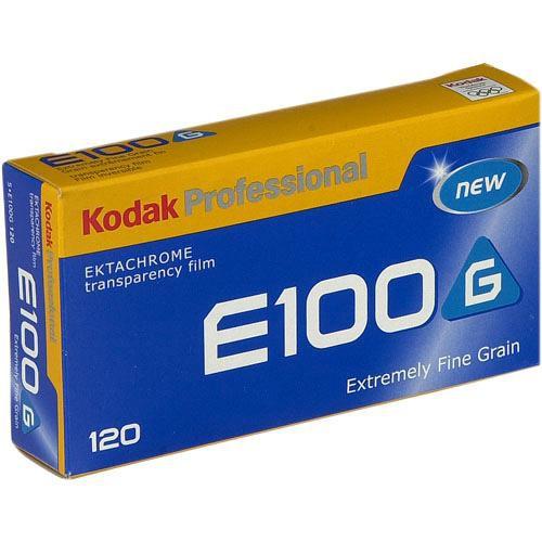Kodak E100G 120 Ektachrome Professional Color Slide Film (ISO-100)