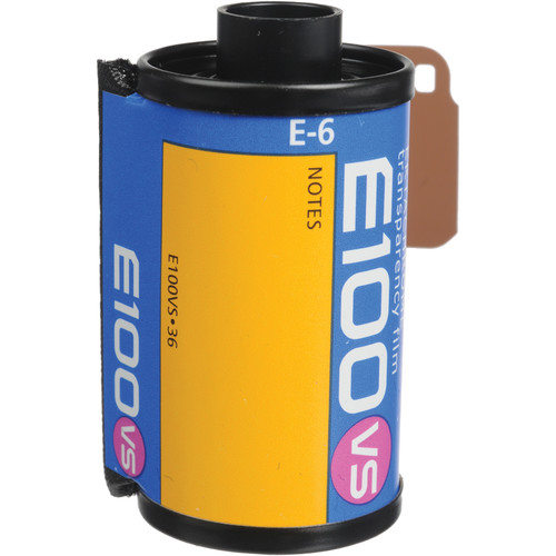 Kodak E100VS 135-36 Ektachrome Professional Color Slide Film (ISO-100)