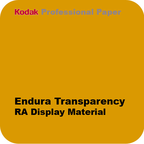 "Kodak Endura Trans Digital RA Display Material No.4732 - 42"" x 100' Roll"