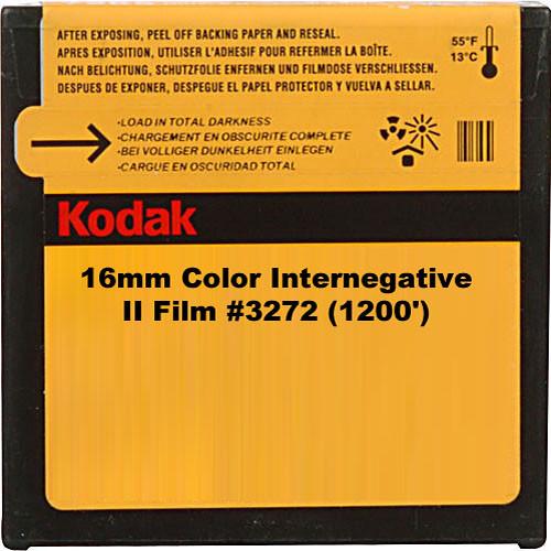 Kodak 16mm Color Internegative II Film #3272 (1200')