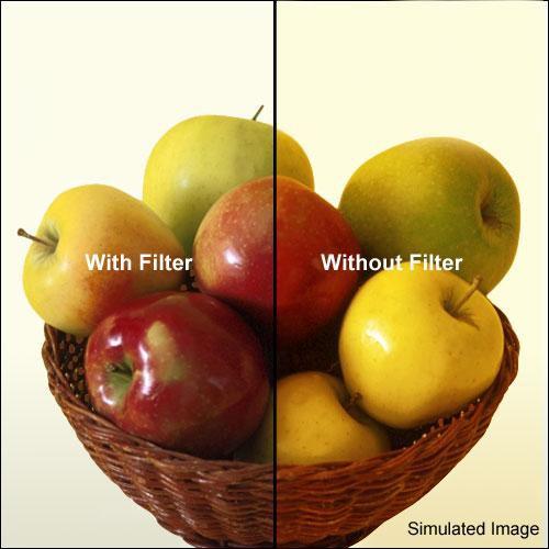 "Kodak 4x4"" (100mm) 80C Color Conversion Wratten 2 Optical Gel Filter"