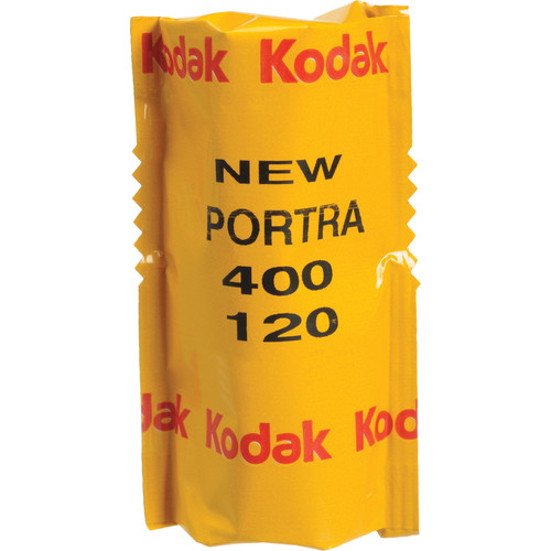 Kodak Professional Portra 400 Color Negative Film (120 Roll Film, 5 Pack)