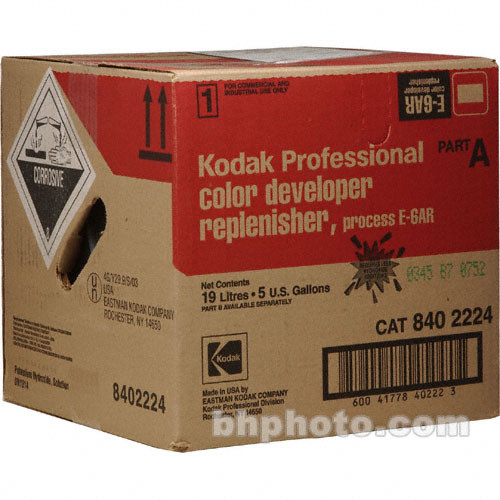 Kodak E-6AR Color Developer Replenisher, Part A for Color Slide Film