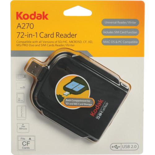 Kodak A270 72-in-1 Card Reader