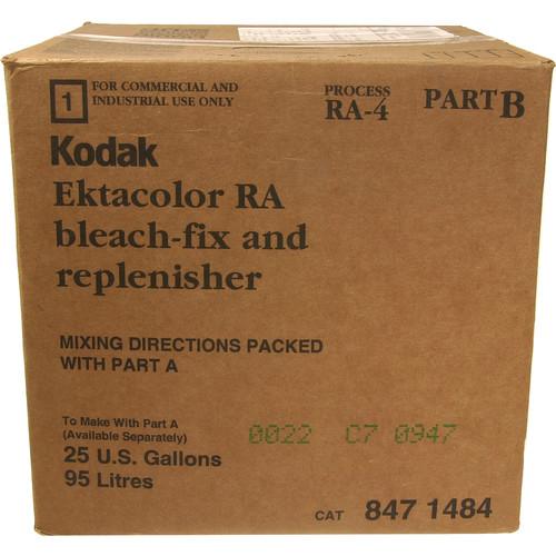 Kodak Ektacolor RA Bleach-Fix & Replenisher, Part B for Color Paper