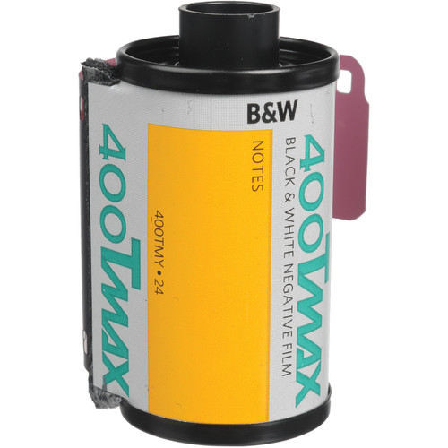Kodak Professional T-Max 400 Black and White Negative Film (35mm Roll Film, 24 Exposures)