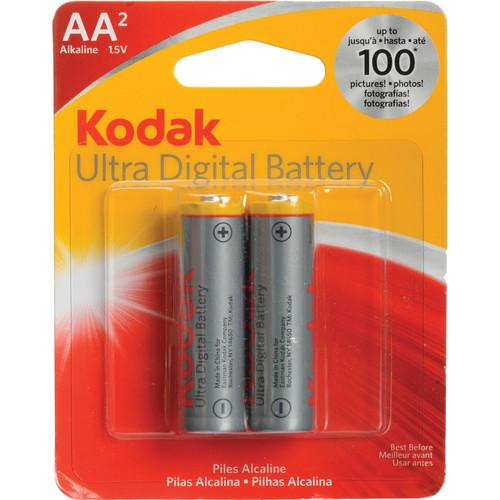 Kodak AA 1.5v Ultra Premium Alkaline Battery (2 Pack)