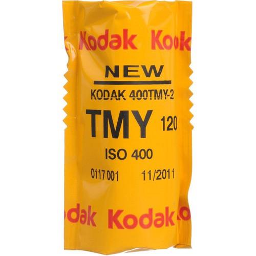 Kodak Professional T-Max 400 Black and White Negative Film (120 Roll Film, 5 Pack)