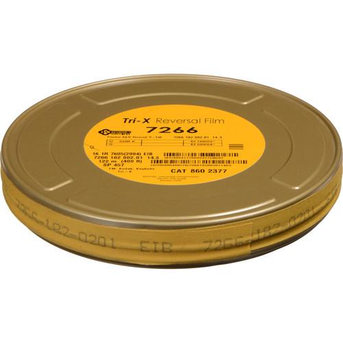 Kodak #7278 TXR457 16mm 400' Roll Tri-X Black & White 1-Edge Perforation On Core