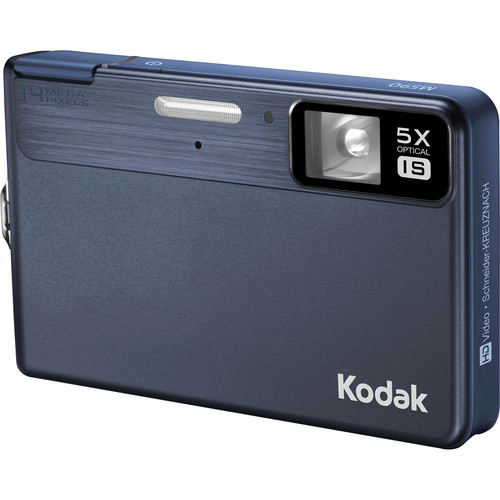 Kodak EasyShare M590 Digital Camera (Blue)