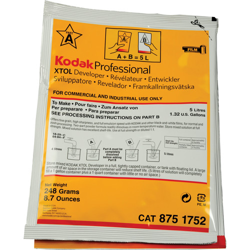 Kodak Professional XTOL Black and White Film Developer (to Make 5 l)