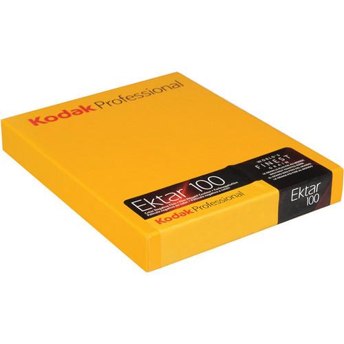 "Kodak 8 x 10"" Ektar 100 Color Negative (Print) Film (10 Sheets)"