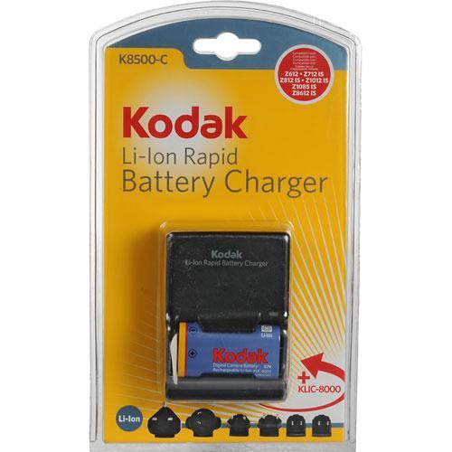 Kodak K8500-C+1 Li-Ion Universal Battery Charger Kit