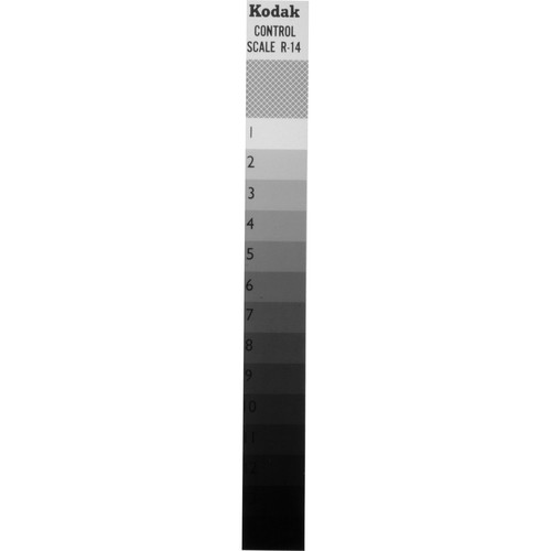 Kodak R14 Control Scale