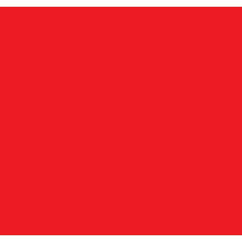 """Kodak Color Printing Filter Acetate Red  0.40 - 12 x 14"""""""