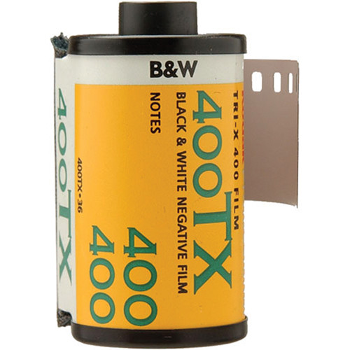 Kodak Professional Tri-X 400 Black and White Negative Film (35mm Roll Film, 36 Exposures)