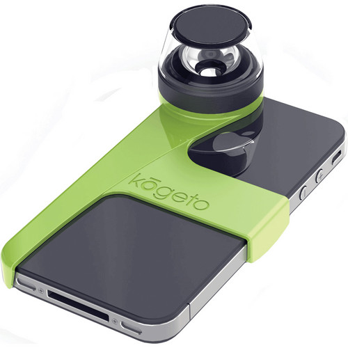 Kogeto Surprisingly Attractive Green Dot iCONIC iPhone 4 / 4S 360° Camera Lens