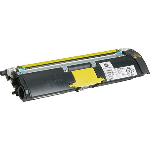Konica 1710587-001 Yellow Toner Cartridge for magicolor 2500 and 2490 Series Printers