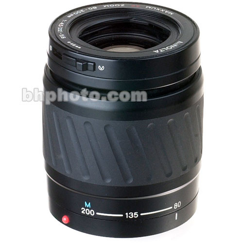 Konica Minolta 80-200mm f/4.5-5.6 Maxxum Autofocus Lens