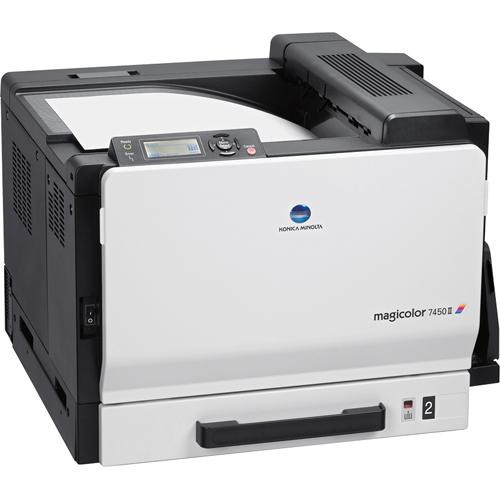 Konica Minolta magicolor 7450 II grafx Network Color Laser Printer