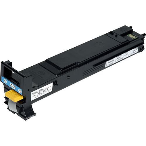 Konica A06V433 High-Capacity Cyan Toner Cartridge for magicolor 5500, 5570, 5650 & 5670 Series Printers