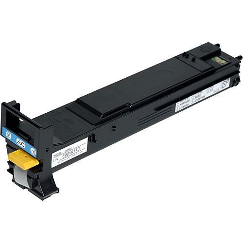 Konica A06V433 High-Capacity Cyan Toner Cartridge for magicolor 5500, 5570, 5650 & 5670 Series Printers
