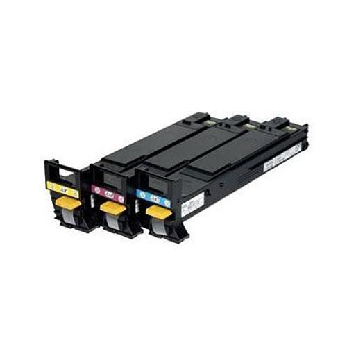 Konica A06VJ33 High-Capacity Toner Cartridges Set