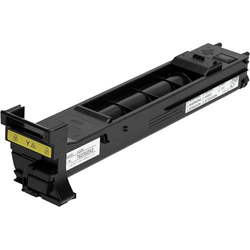 Konica A0DK232 Yellow Toner High-Capacity Cartridge for MC4650 Series Printers