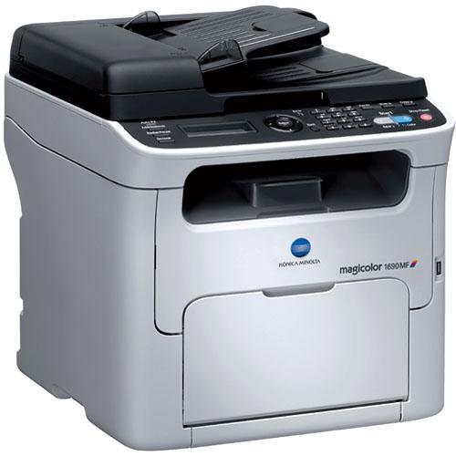 Konica Minolta magicolor 1690MF Network Color All-in-One Laser Printer