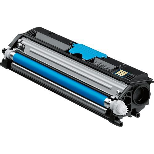 Konica A0V30HF High-Capacity Cyan Toner Cartridge for magicolor 1600W Series Printers
