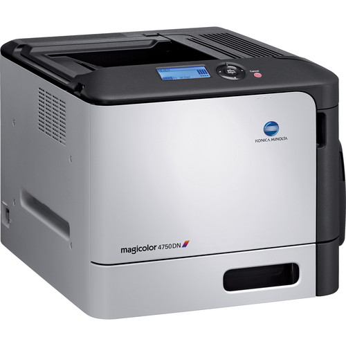 Konica Minolta magicolor 4750DN Network Color Laser Printer