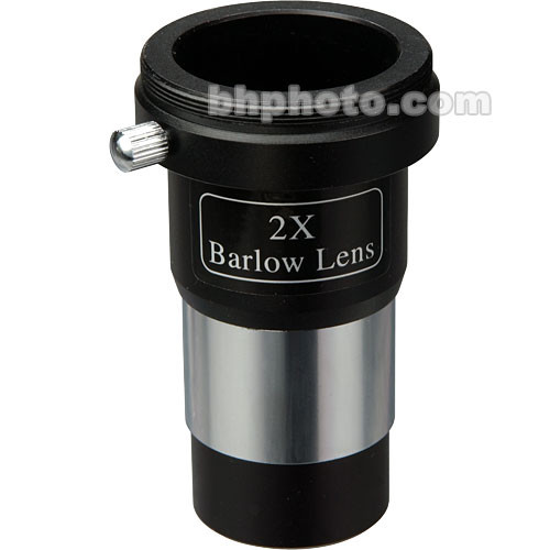 "Konus 2x Barlow Lens (1.25"") with T-Mount Adapter"
